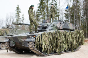 Battle vehicle CV9035