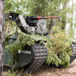 Milrem unmanned ground vehicle