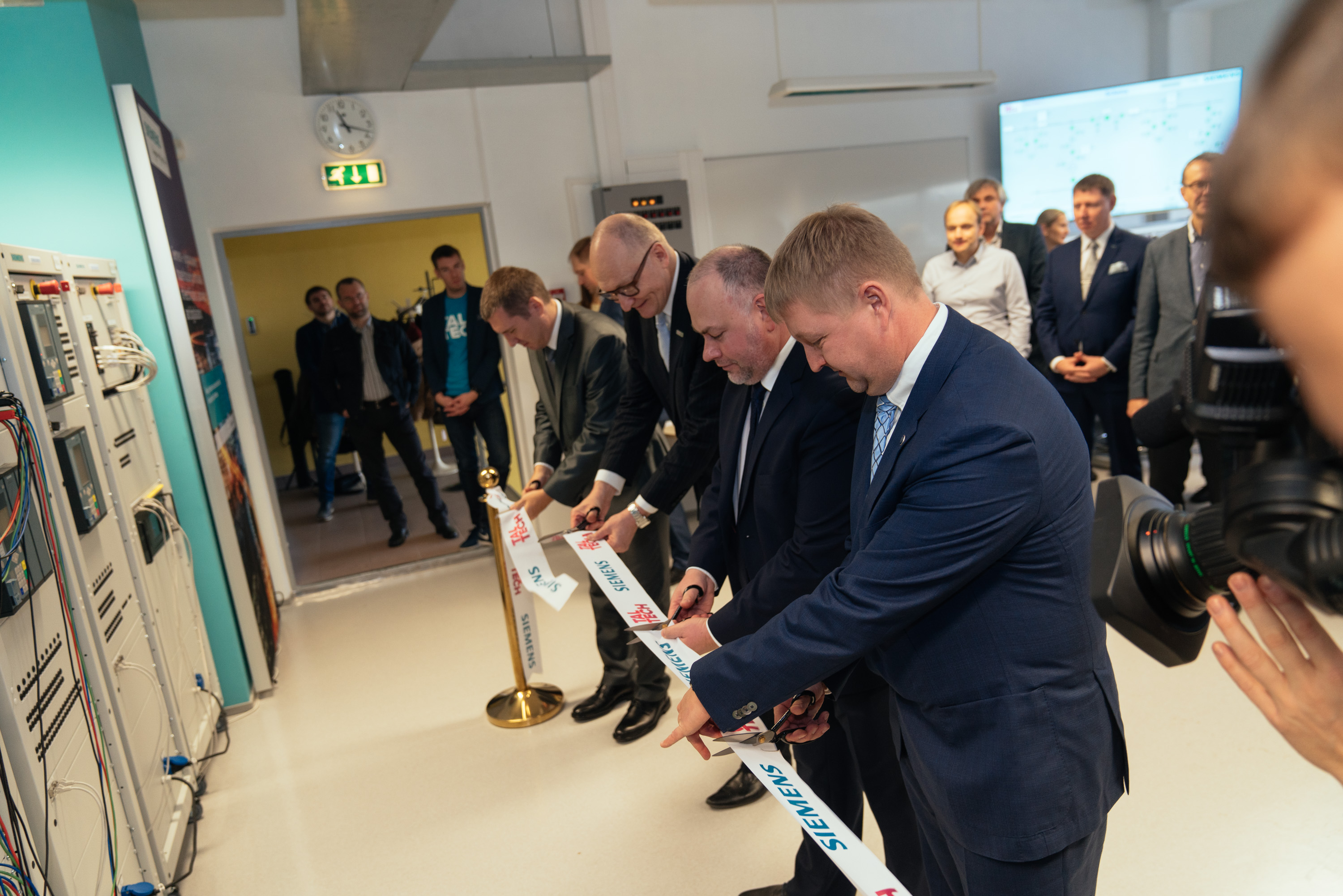 The study and research work in the new energetics laboratory will increase the reliability of Estonian electricity systems