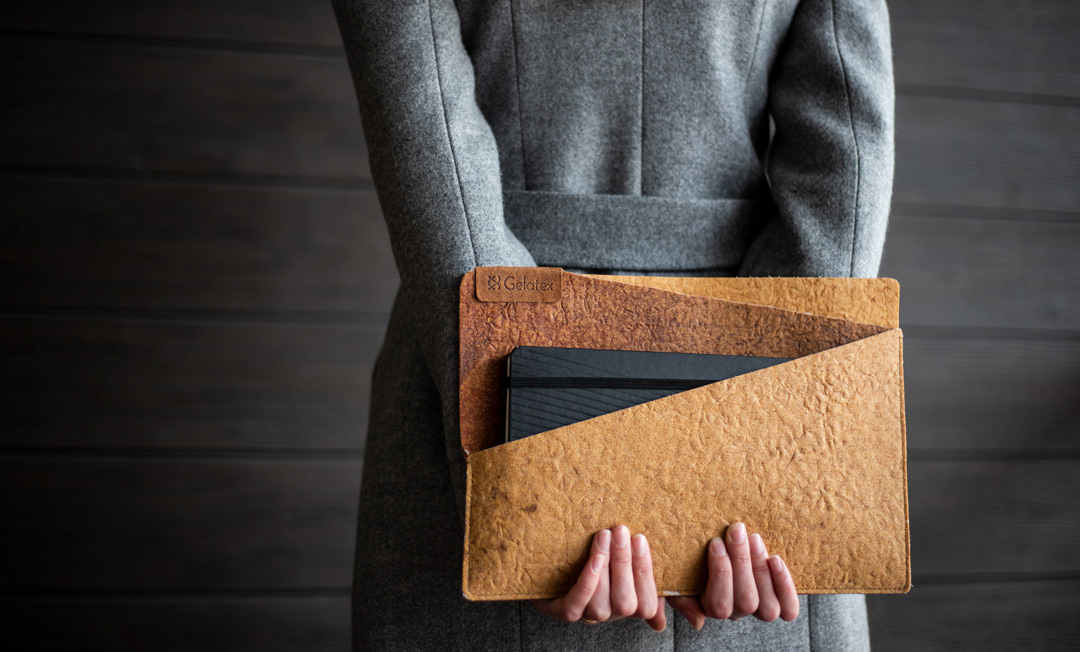 New developments of the start-up that created a unique type of faux leather