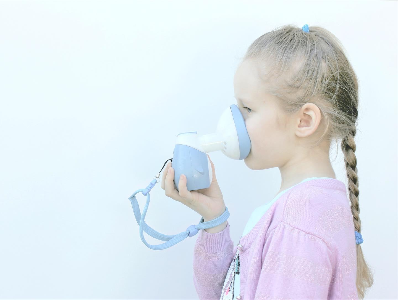 Võrktehnoloogial põhinev inhalaator lastele