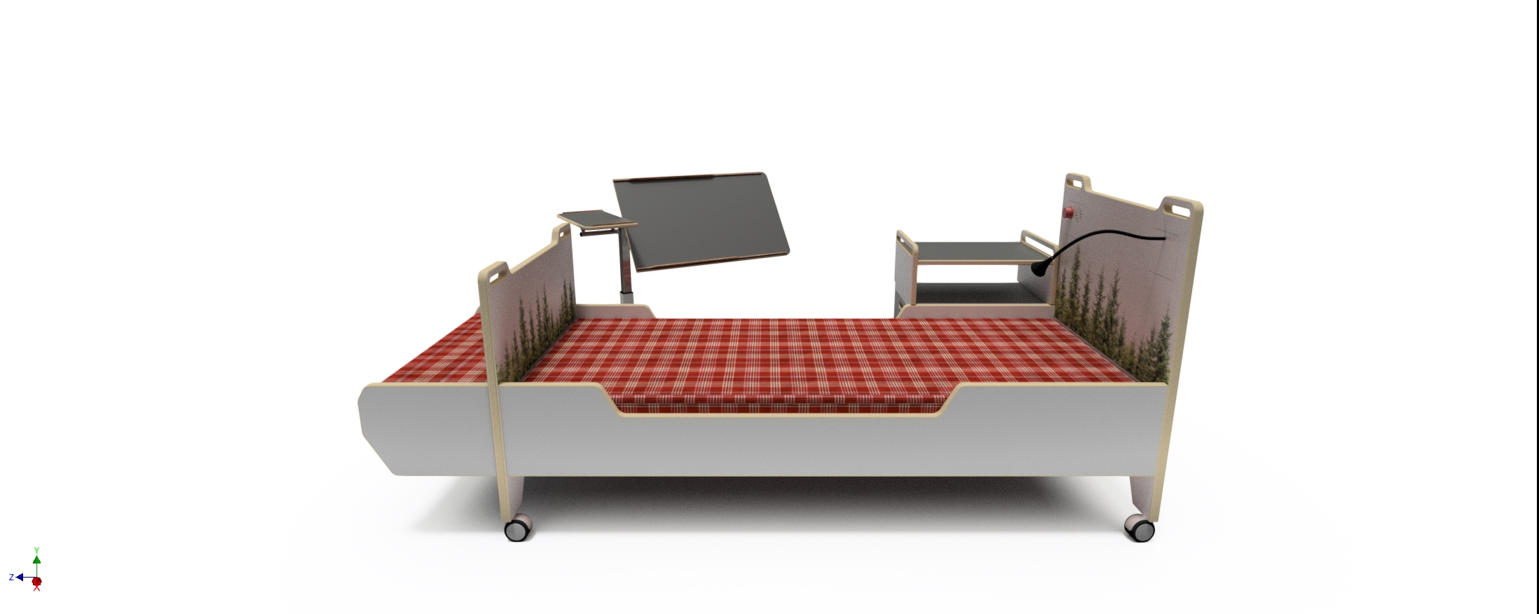 The experience story of old peoples bed